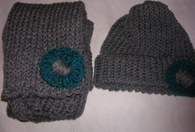 Hand knit by me and kniting stuff / by Olivia Starnes Brown