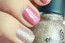 nails, hair