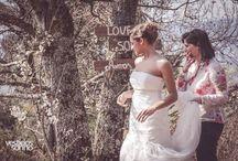 Making-off - Vestidos de Noiva / Alguns momentos da sessão fotográfica da Vestidos de Sonho com a modelo e atriz Joana Alvarenga. ♥ ♥ ♥
