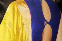 mustard saree pairings