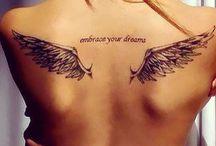 Tatuaje cu aripi