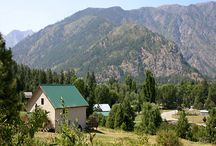 Mountain Views in Leavenworth / Places to stay in Leavenworth that have amazing mountain views!