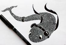 Demonic Dreams Art / My illustrations. Find me on Instagram and Facebook as Demonic Dreams Art