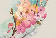 Цветы-иллюстрация