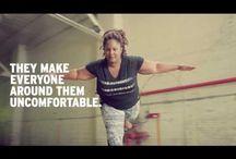 Inspiring commercials