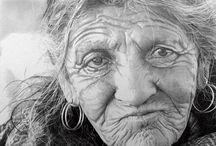 Kuns: sketse graphite/charcoal/pencils