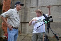 """""""Moving North Carolina"""" Documentary / The crew of """"Moving North Carolina"""" documentary that will air on UNC-TV in late 2013 or early 2014 shoots some footage of the Roanoke Canal Museum to feature in the upcoming hour-long film. (7-25-2013)"""