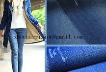 beautiful cotton elastic denim fabrics / we are supplier