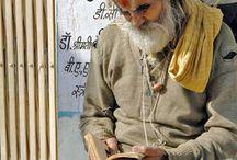 Les Sâdhus - Inde / les plus belles photos de Sâdhus en Inde - Inde du Nord - Rajasthan et Inde du Sud . Par Makila Voyages