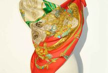 vintage scarves / scarf and more scarves / by jesma archibald   (nutmegs)
