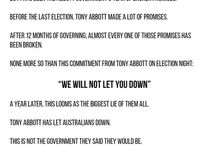 Abbott's LNP Broken Promises 2014