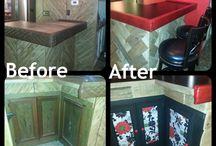 My Home Improvement Projects / by Stephanie Altenhofel