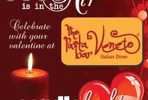 Celebrate with your valentine at The Pasta Bar Veneto