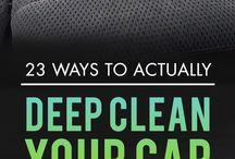 Clean Car hacks