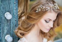 Muse for Me / vintage, boho, art deco inspired hand made bridal accessories, hair vine, hair halo, headpieces, crown, diadem, comb, hair pin, headband, wedding accessories