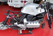 Mein Projekt BMW K100 / Cafe Racer Scrambler