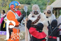 Peoria Zoo Howl-Zoo-Ween / Calling all ghosts and ghouls, check out our annual How-Zoo-Ween event. With a trick or treat trail through Africa, magic shows, a costume contest each night, and so much more, come out and enjoy this family friendly event.