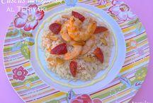 Rice, cuscús y Arroz  Recetas de Anansies