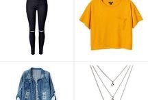 kombinácia oblečení