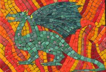 Mosaics - Mythical / Mythical Creatures and entities