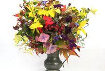 Jane's Garden Flowers / Arrangements of garden flowers