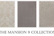 Mansion 9 Wallpaper Collection / With artistic designs and rich hues indicative of those found in high-end luxury wallpapers, the Mansion 9 Collection offers the gorgeous looks of its expensive counterparts sans the high price tag.
