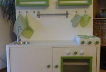 dřevěné kuchyňky pro děti