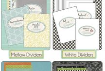 Printables¤¤ / Printable stuff for planners & crafts!