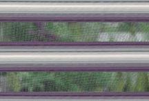 Sheer Elegance / Tela que combina tejidos trasparentes y opacos intercalados de forma horizontal a lo largo de la persiana para ofrecer un tenue control de la luz interior y de transparencia al exterior.