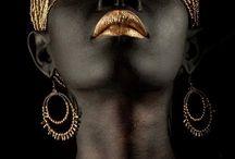 Trucco di color bronzo