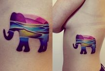 Tatoo elephant