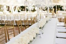 White Wedding Ideas & Themes / White Wedding Ideas & Themes from Wedded Wonderland.