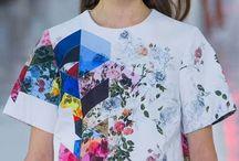 flower geo prints