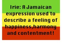 JAMAICAN EXPRESSIONS