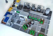 Лего здание