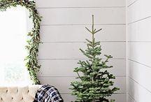 chic christmas decor white