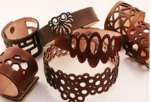 Bőr ékszerek - Leather jewelry
