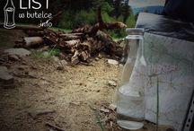List w Butelce / List w butelce może nieść ważny przekaz, może ratować życie, sprawiać radość, albo dawać nadzieję. Podobnie jest z wodą, którą codziennie pijemy. Chcemy jednak, aby to, co wlewamy do butelki, nie było śmieciami. Chcemy wartościowej i radosnej wody. Chcemy, aby rozbudziła nas o poranku, orzeźwiła po treningu i dodawała sił po ciężkim dniu pracy.