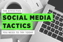 Social media / Facebook; Twitter; Instagram; Pinterest; YouTube;  Google+; Linkedin;