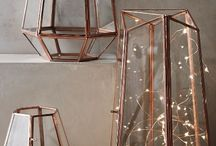 DETAILS - COPPER // CUIVRE / Copper in your decoration and interiors. objets en cuivre et en étain