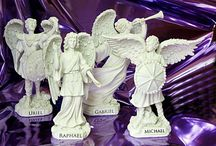 Archanges Michaël, Raphaël, Gabriel, Uriel