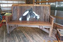 barn wood / by Lu Whitelaw Roeder