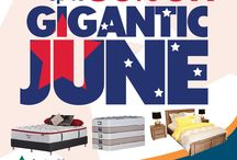 JUNE / GIGANTIC JUNE SALE at Participating Stores only!