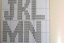 Bordado monogramas em ponto reto / bordado ponto reto