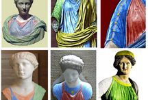 Ancient Roman Women's Clothing / Inspiration for Roman clothing