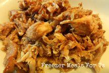 Food - freezer recipes