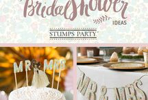 Bridal Shower Ideas / The perfect bridal shower doesn't have to be perfect at all. What it does have to be, though, is a relaxing event where good friends come together to celebrate a new journey one of them is about to embark on