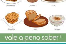 Alimentos equilíbrio de uma dieta