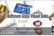 Bathroom Sinks / Our collection of Bathroom Sinks will give you the most distinctive design with beautiful sleek lines that the vibrant color combination will make your dream remodeling project a reality.