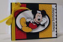 Cards - Disney Card Ideas